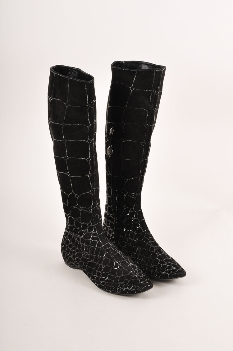 Garage Shoes Knee High Boots