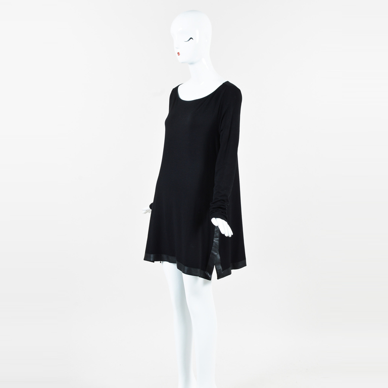 Donna Karan Wool Shift Dress Cheap Price Store Sale Recommend Cheap Excellent Discount Latest Fast Express ZXb1hO