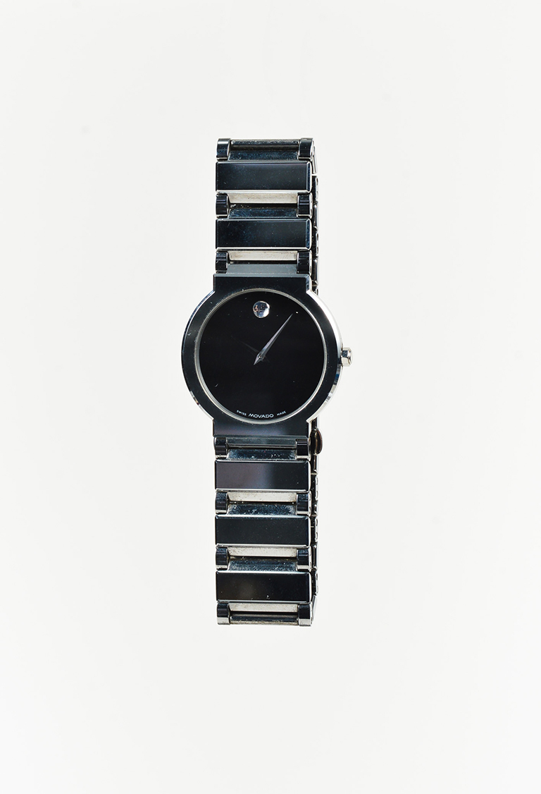 """Stainless Steel & Sapphire Crystal """"Valor"""" Watch"""