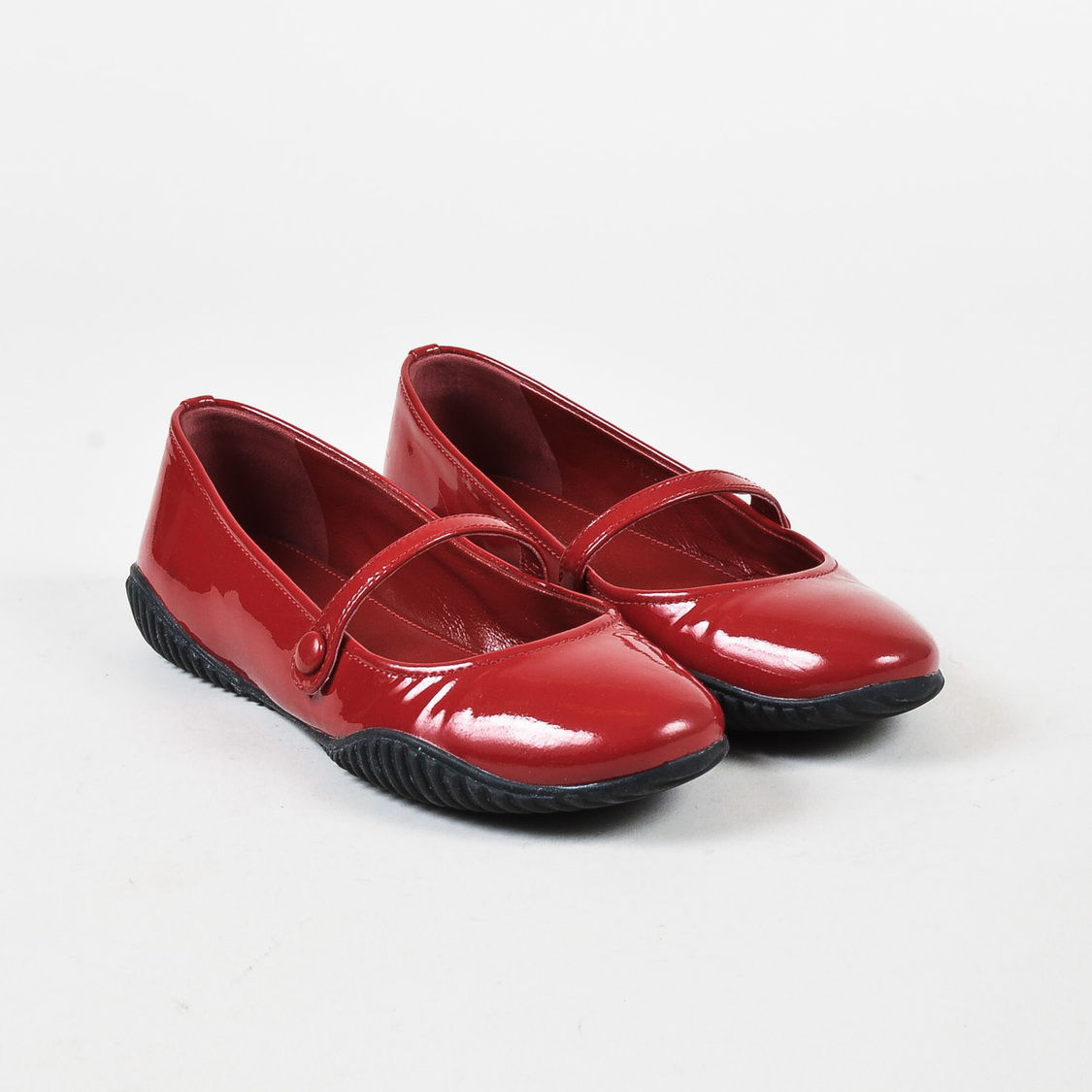 Prada Sport Patent Leather Mary Jane Flats cheap sale latest for sale online best seller cheap price how much cheap online low shipping fee for sale iWMSF