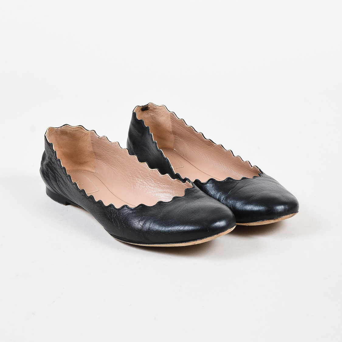Ballet Flats Ballerina Shoes for Women On Sale, Black, Leather, 2017, 2.5 3 3.5 4.5 5.5 7.5 Chlo