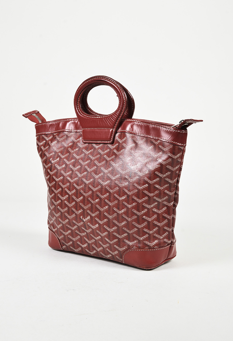 Goyard Red Multi Goyardine Coated Canvas Leather Trim Beluga PM - Invoice template word 2010 goyard online store