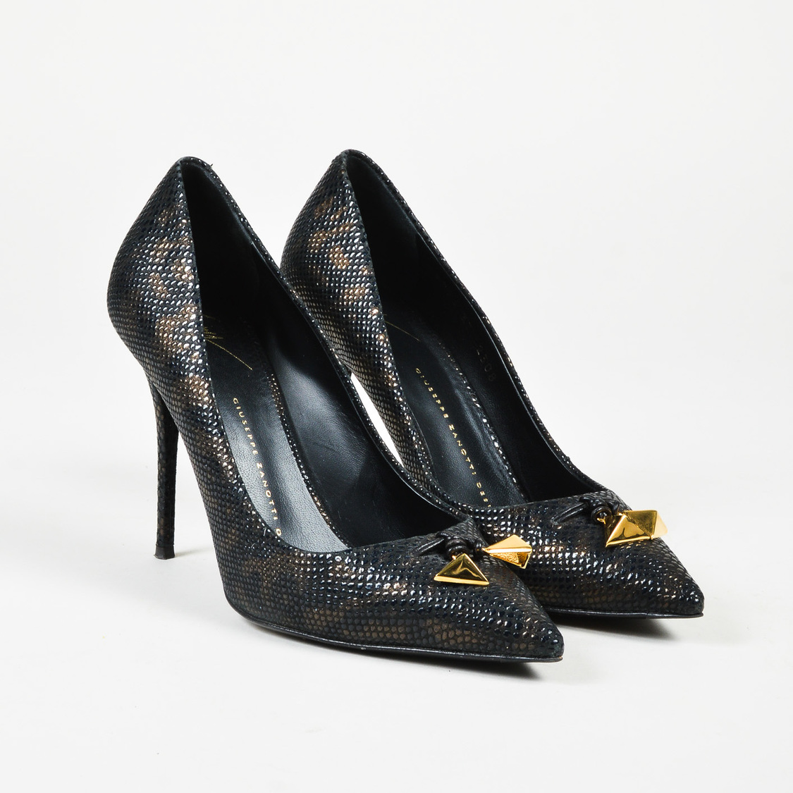 Pumps & High Heels for Women On Sale, Black, Leather, 2017, 7.5 Giuseppe Zanotti