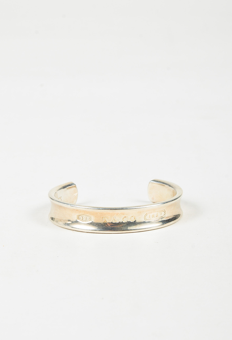 Sterling Silver Engraved Open Cuff Bracelet