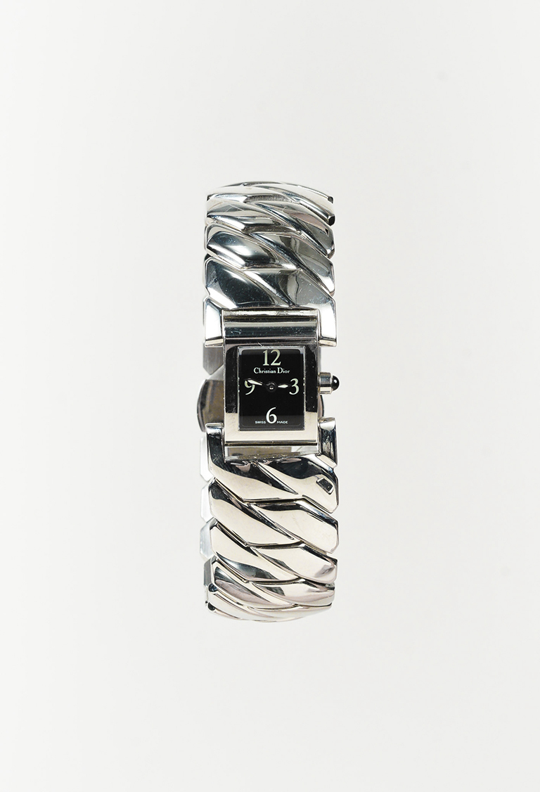 Stainless Steel & Crystal Watch