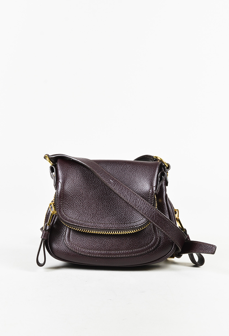 55e5cbc3bf Tom Ford. Purple Grained Leather