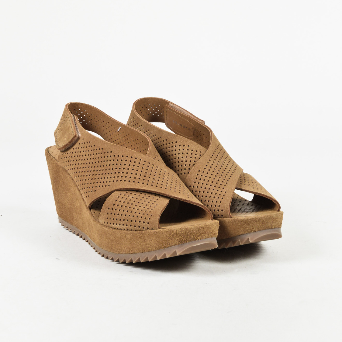 Pedro Garcia Frigg Suede Wedge Sandals w/ Tags outlet marketable JsJhI