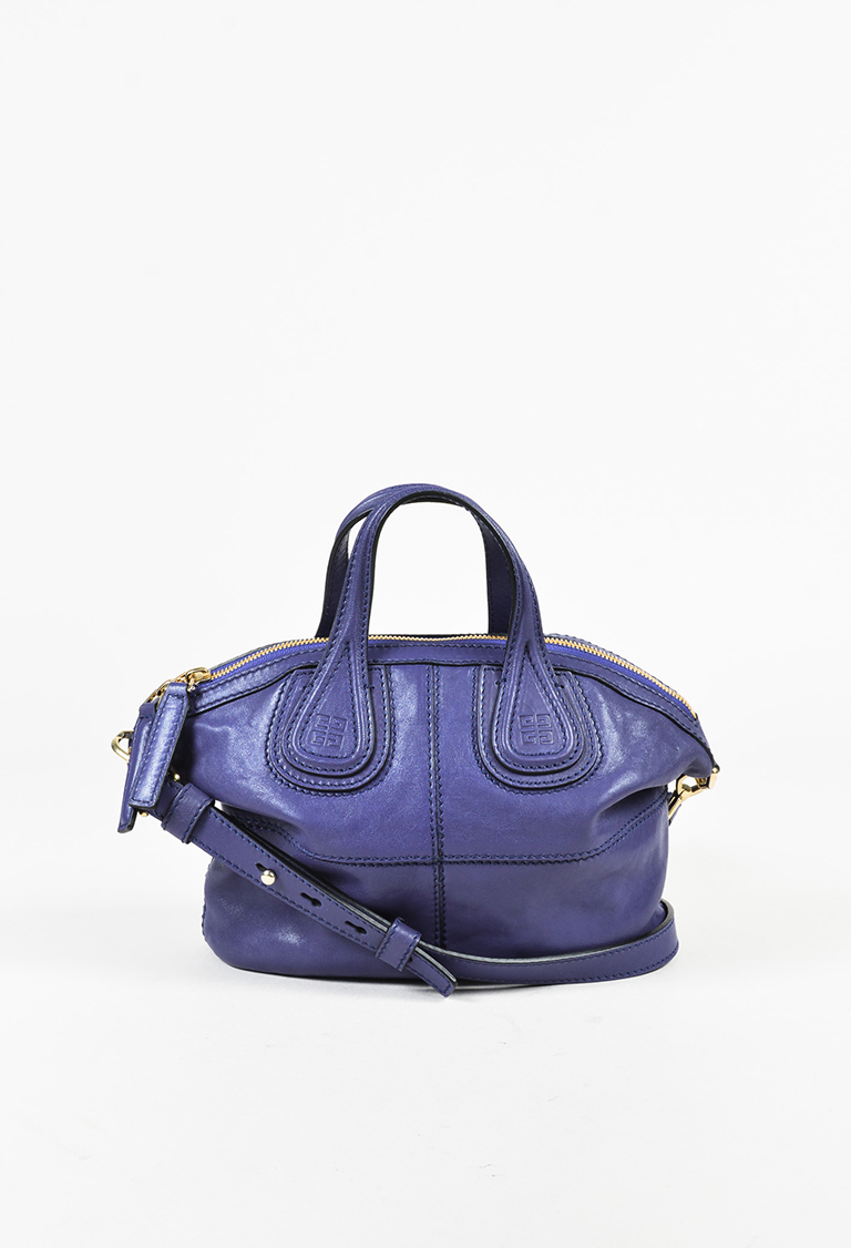 Givenchy. Micro Nightingale Zanzi Bright Blue Bag 759cd72837fcb