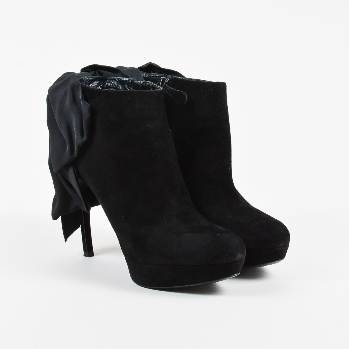 Boots for Women, Booties On Sale, Black, Suede leather, 2017, 3.5 5.5 6 Alexander McQueen