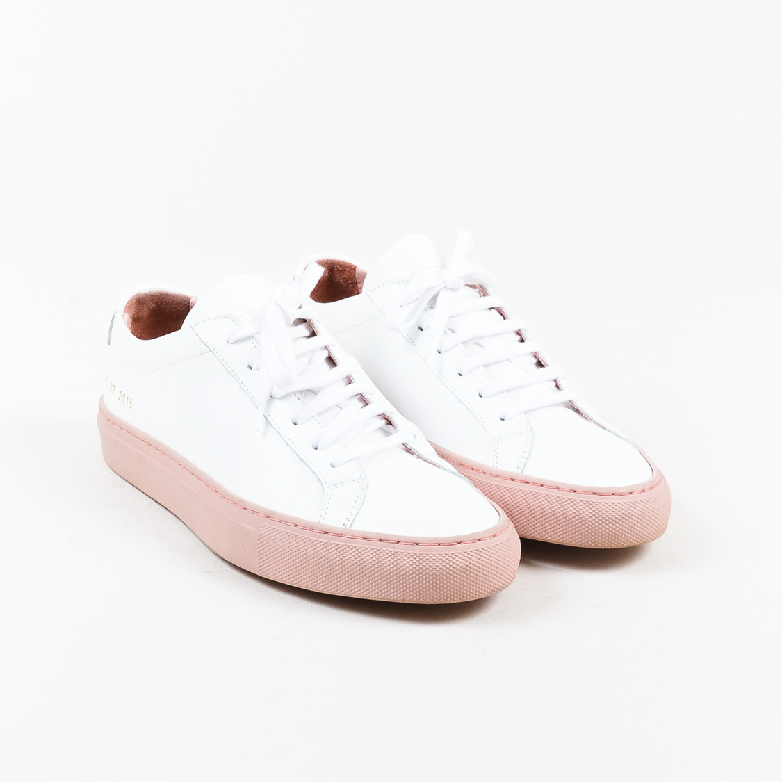 Sneakers for Women, Silver, Leather, 2017, 3.5 4.5 5.5 6.5 7.5 Common Projects