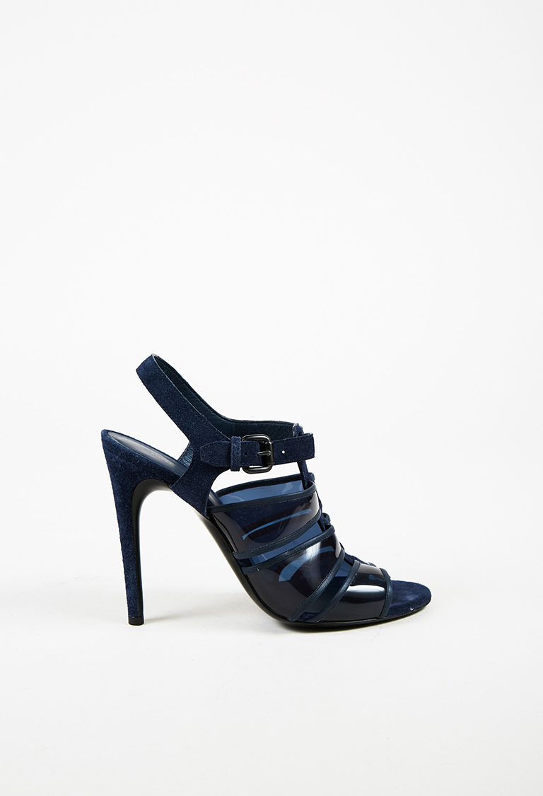 sale purchase clearance explore Bottega Veneta Suede Caged Sandals sale looking for new for sale tuuDn85jCP