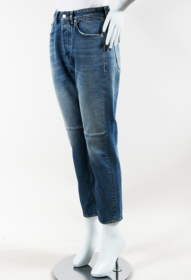 "Blue Denim ""Happy"" Skinny Jeans"