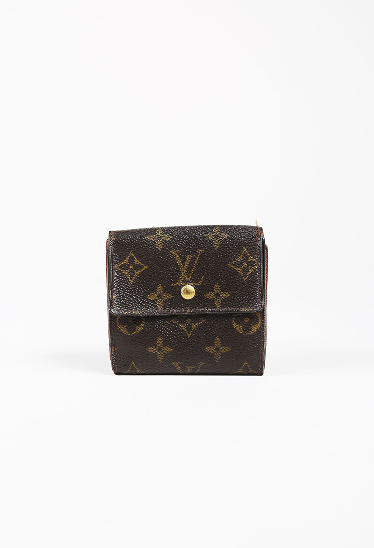 b2f28dde496f Louis Vuitton Brown Monogram Coated Canvas