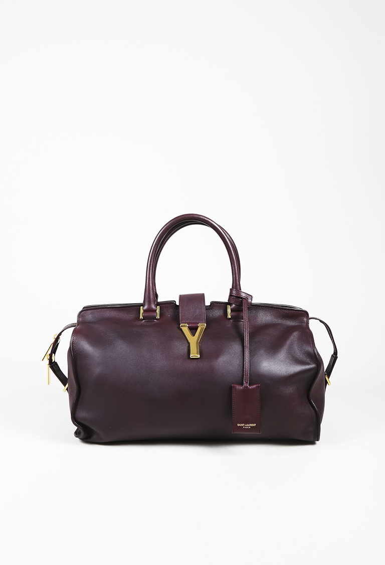 affbe7b4f4 Saint Laurent. Yves Purple Calf Leather