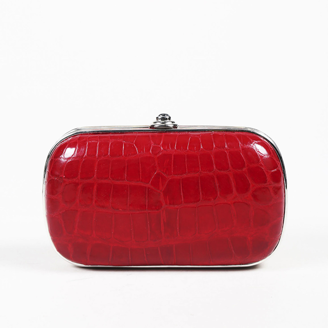 forefront of the times good texture best value Judith Leiber Alligator Frame Clutch Bag | eBay