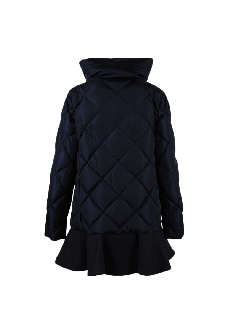 Moncler Blue Nylon Wool Down