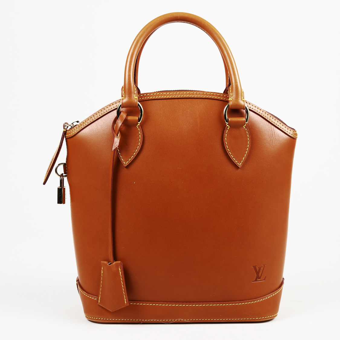 Details about Louis Vuitton Brown Leather