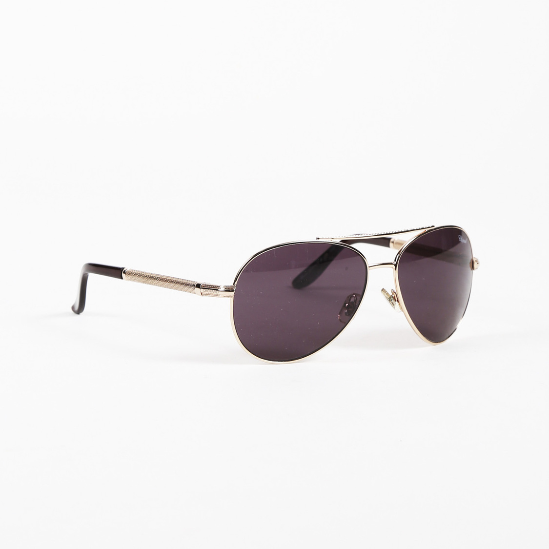 6a084b2f65c7 Details about Chopard Gold Tone Tinted Aviator Sunglasses