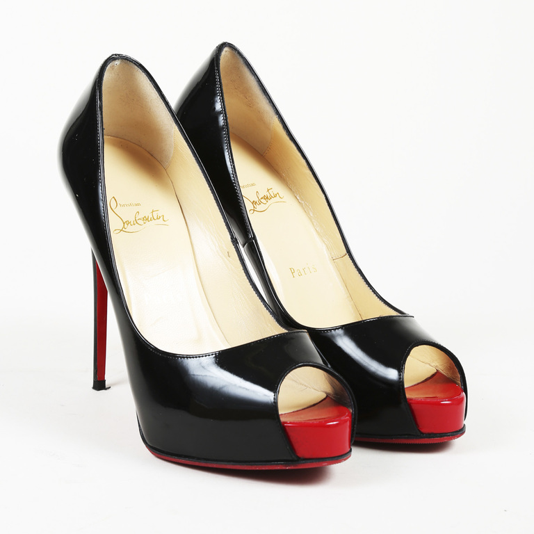c7baf8fa0c25 Details about Christian Louboutin Patent Leather