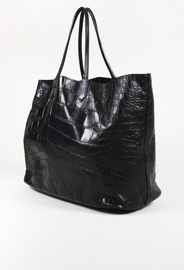 6caee27393 Givenchy Embossed Crocodile Leather