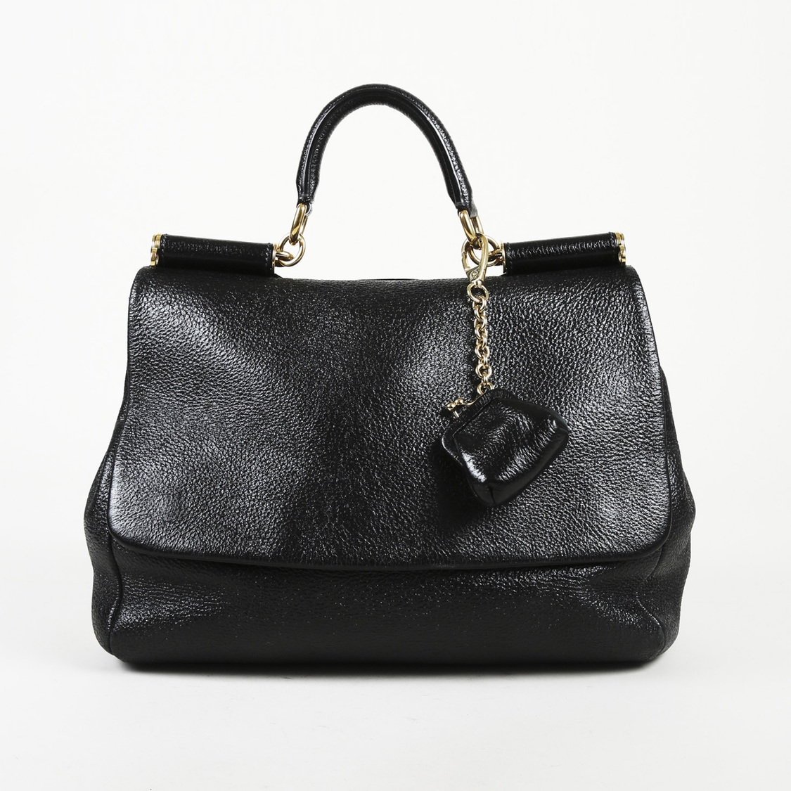 Details about Dolce   Gabbana Leather Large
