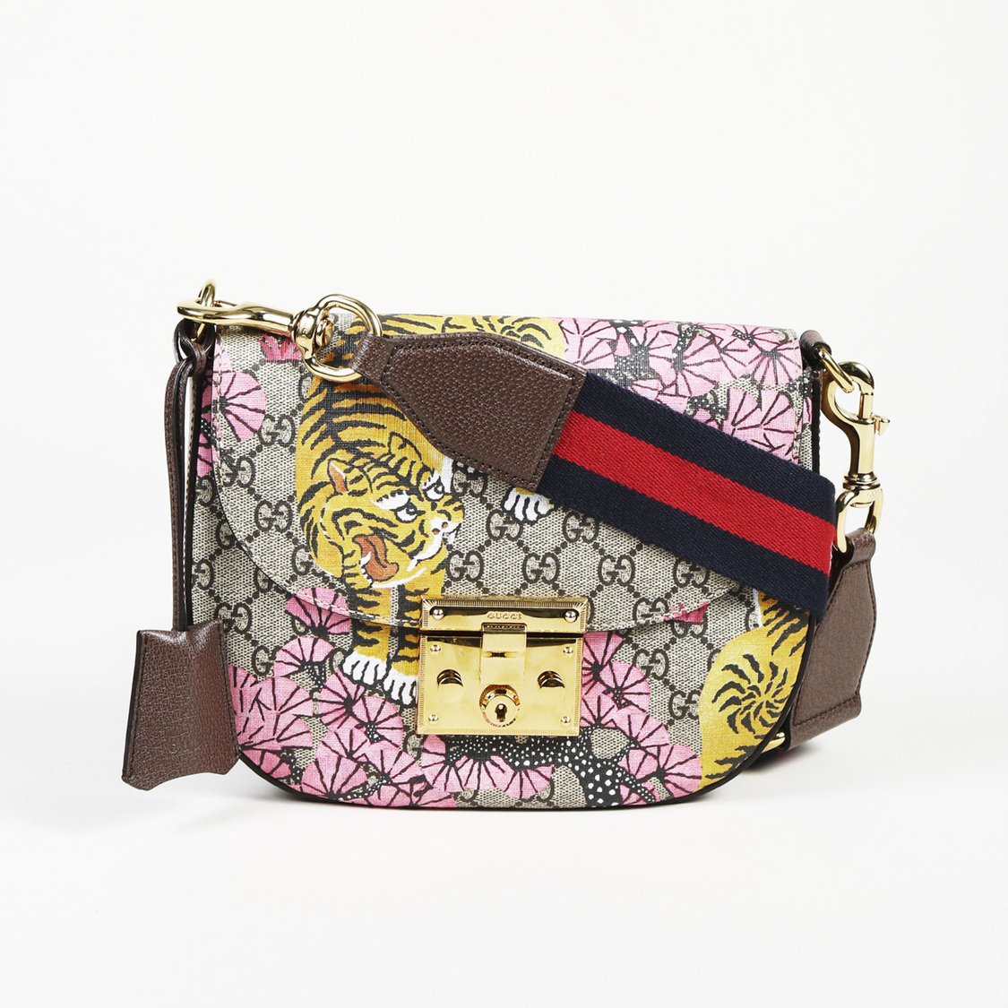 a83d48863 Details about Gucci GG Supreme Coated Canvas Medium
