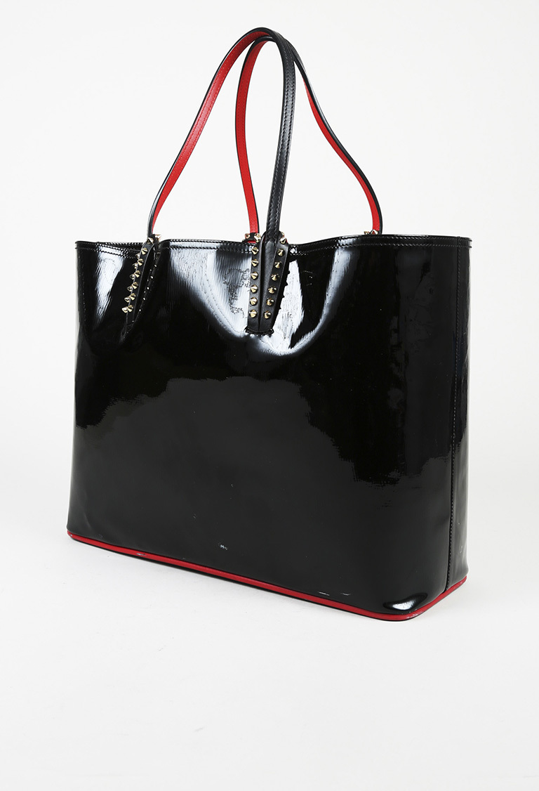 99be8d0398e5 Details about Christian Louboutin Patent Leather Studded
