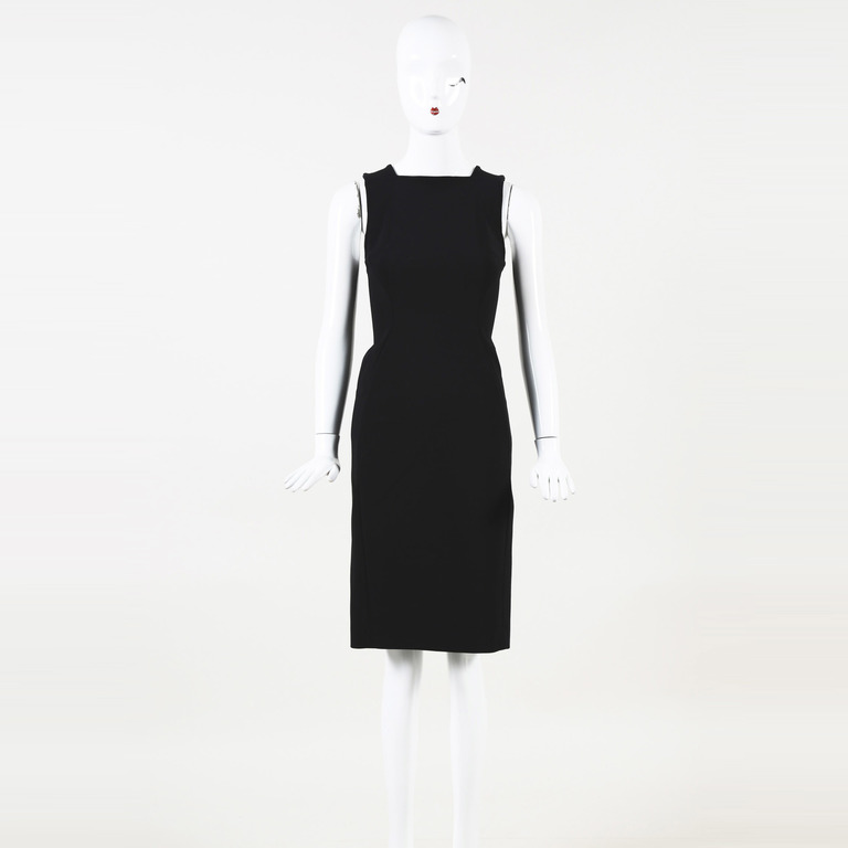 80a477a1de9 Proenza Schouler Wool Knee Length Sheath Dress SZ 2