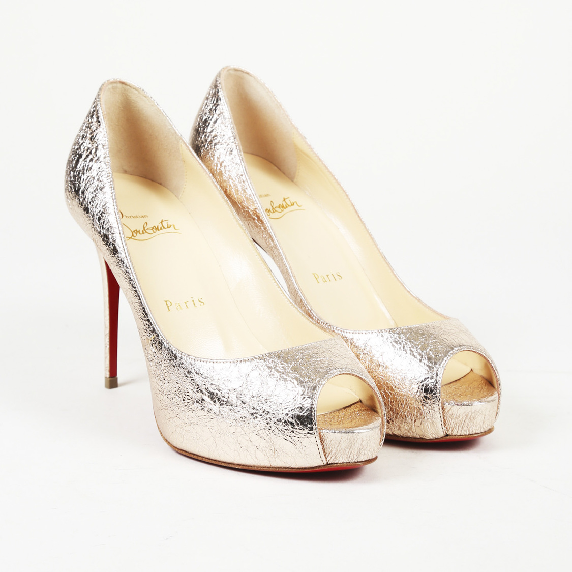 half off 36253 46970 Details about Christian Louboutin Leather