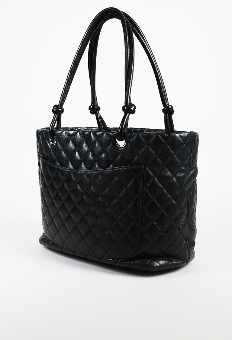 99359646bb5c1f Chanel Ligne Cambon Quilted Tote Bag | eBay