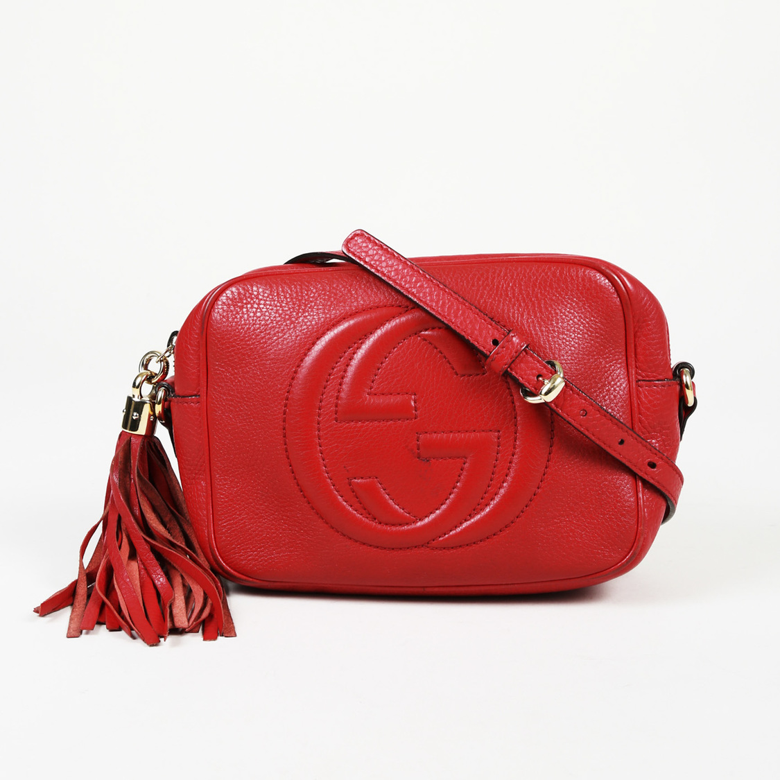 6e6a3cbb2b02 Details about Gucci Leather Small