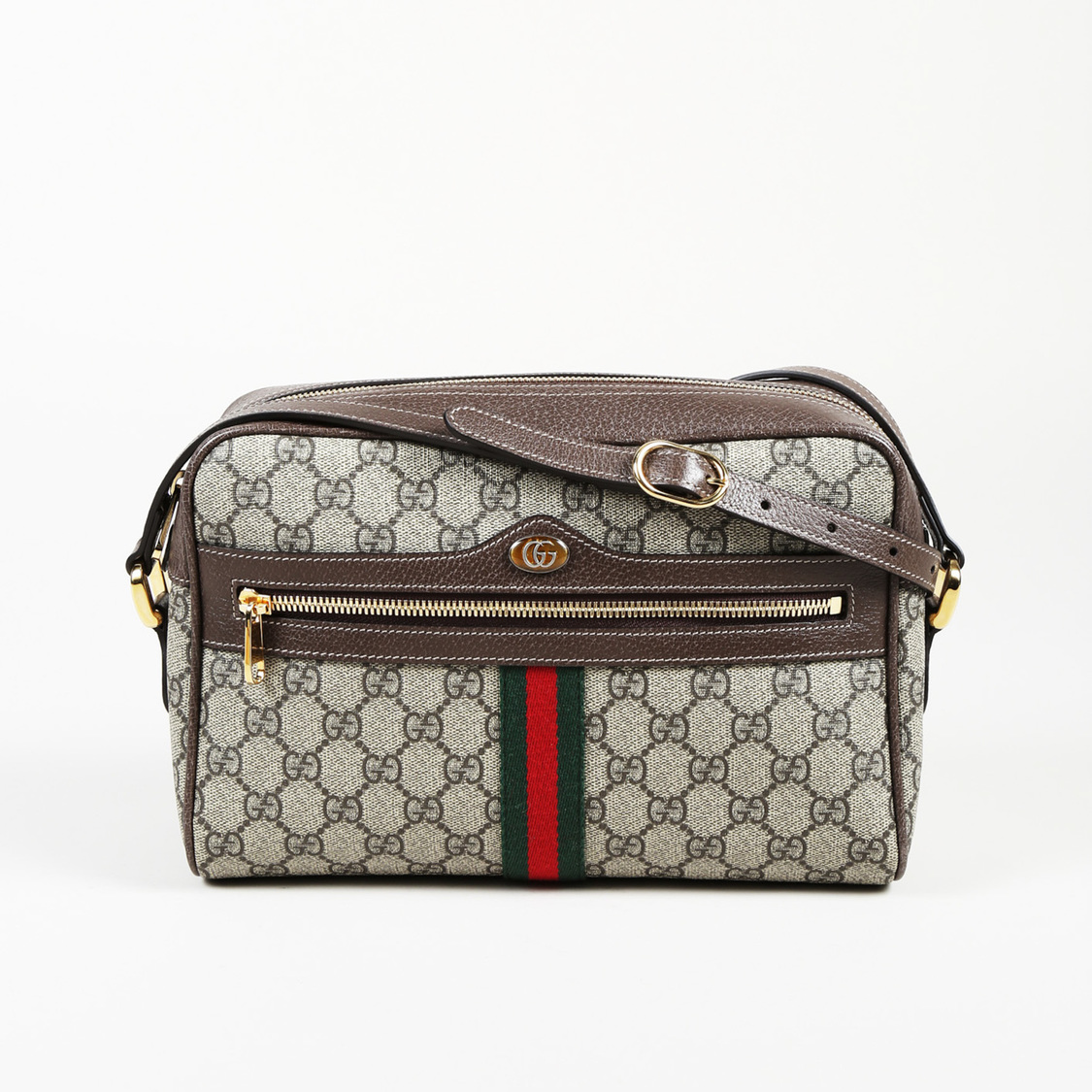 02fb2a12ad94 Details about Gucci GG Supreme Coated Canvas Small