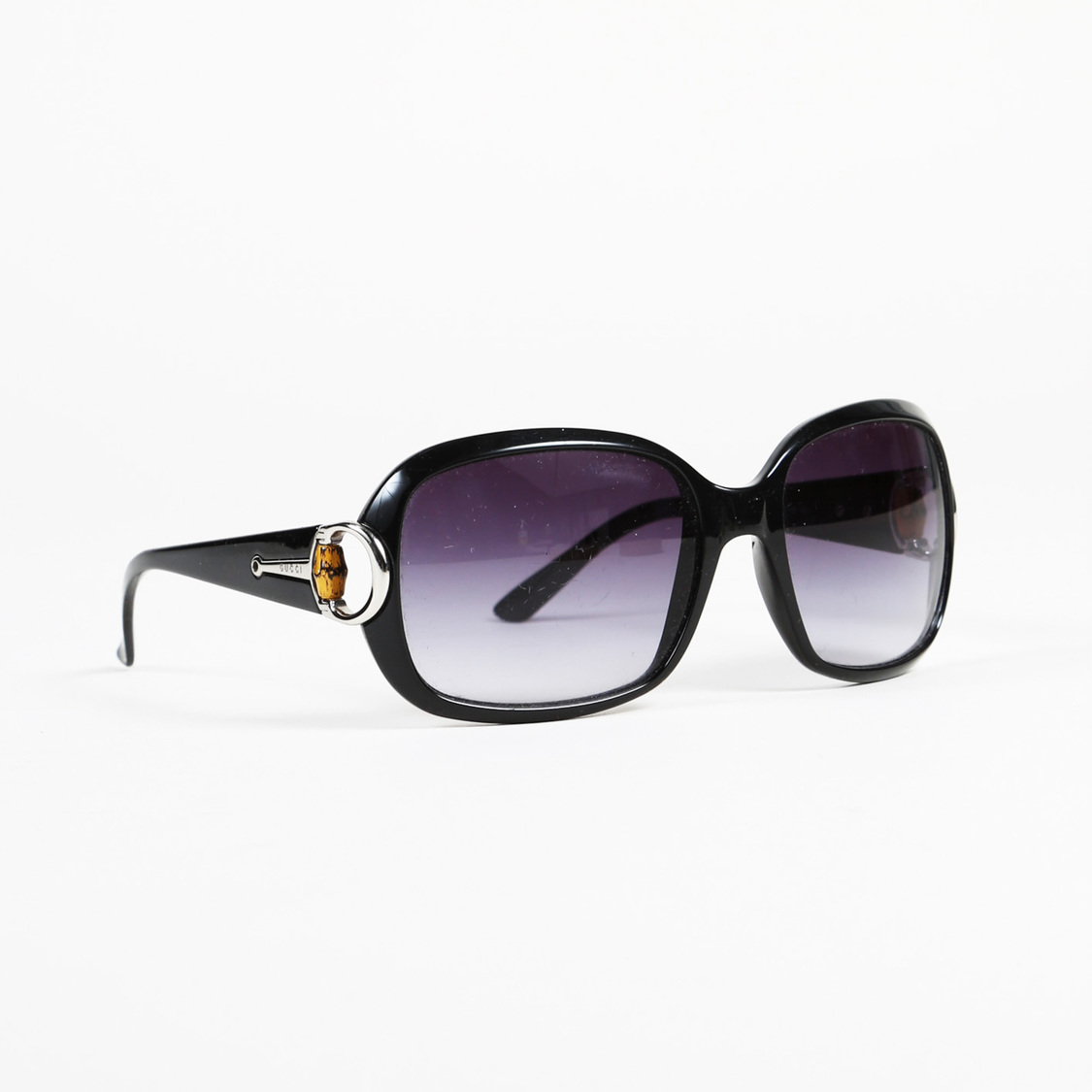 81cfe1ef3e52 Details about Gucci Bamboo Oversized Sunglasses