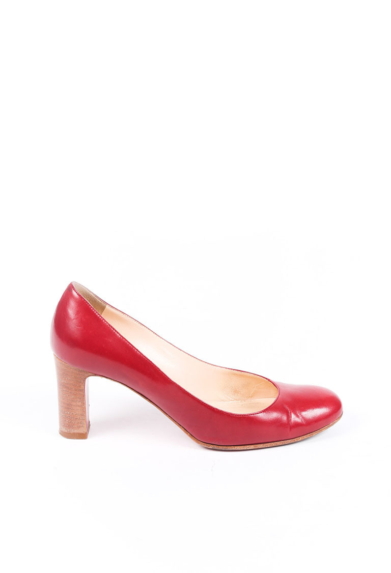 Christian Louboutin Vintage Red Leather