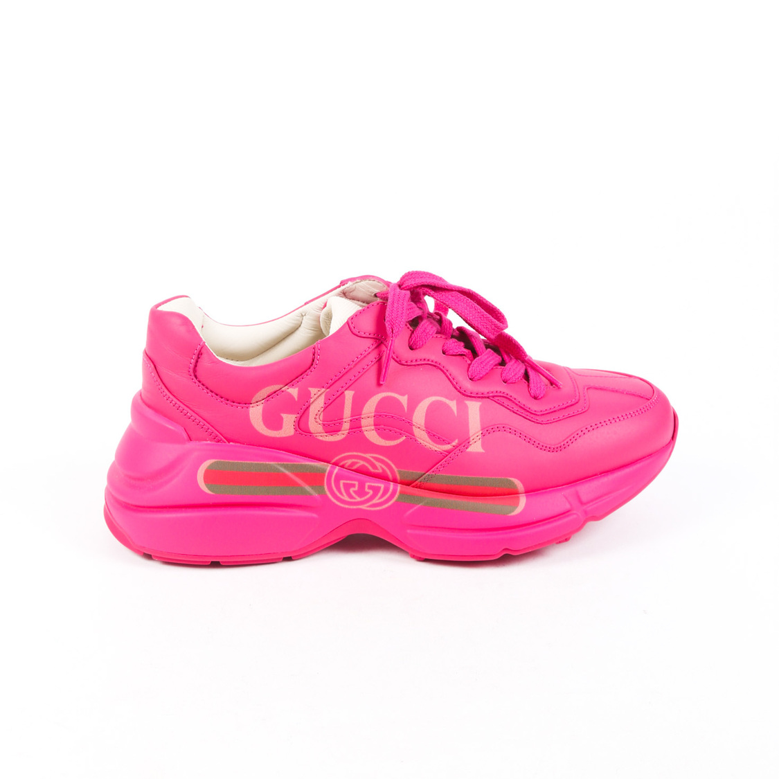 pink baby gucci shoes