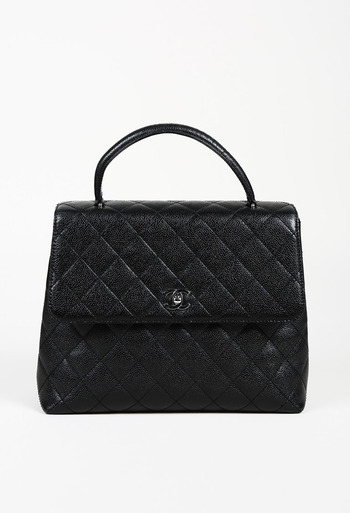 118cdf7ec08b Chanel 2000-2002 Quilted Caviar Leather