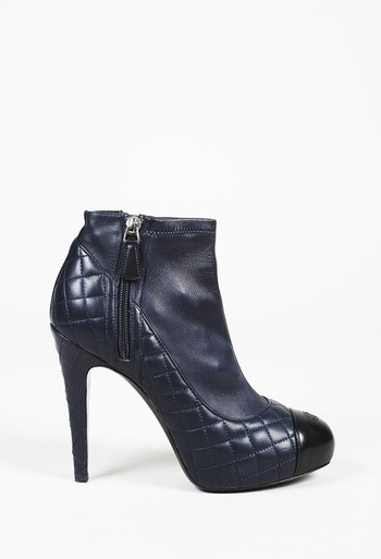 82aeff5101e3 Quilted CC Ankle Boots