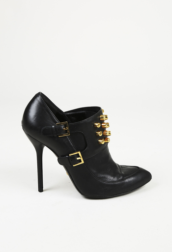 53be6fee8624 Studded Pointed Toe Booties