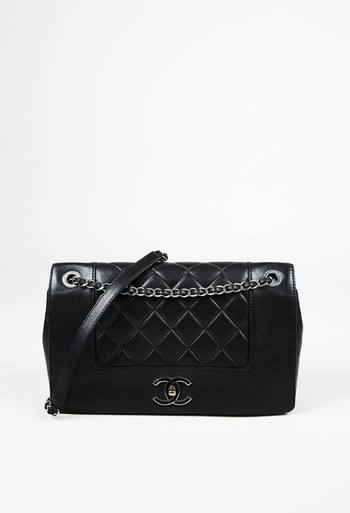 30116012602 Quilted CC Mademoiselle Vintage Flap Bag