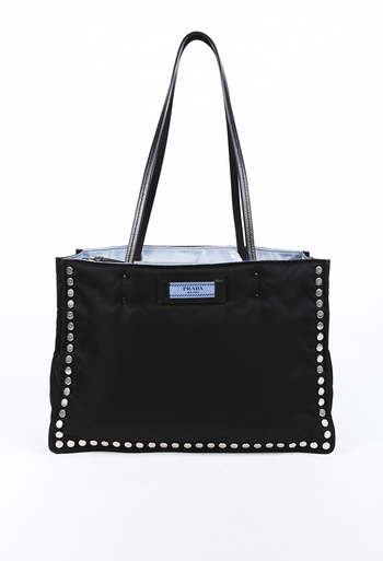 3a373803bdc1cd Etiquette Studded Tessuto Tote