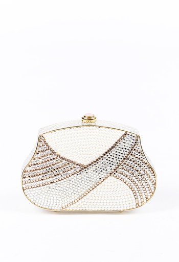 d4409049427 Crystal Pearl Evening Clutch
