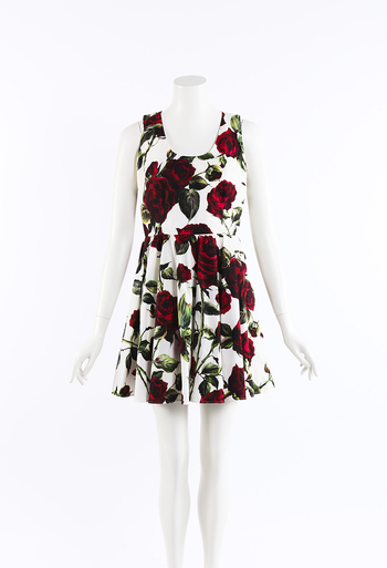 47b17a8b Floral Print Fit and Flare Sundress