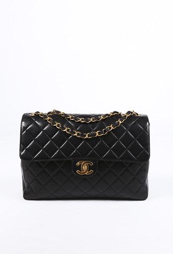 03ed356ae8 Vintage Jumbo Quilted Classic Single Flap Bag