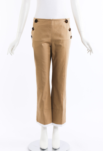 518eb8b25fee Roma Buttoned Ankle Pants