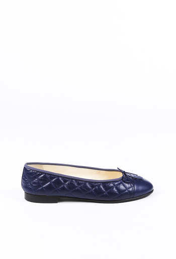 584ceaa61b5d4 Quilted Leather CC Ballet Flats