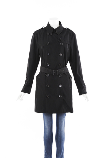 Brit Belted Trench Coat