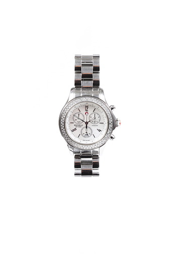 Jetway Stainless Steel Diamond Watch