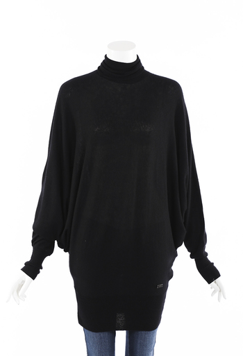 Cashmere Knit Dolman Sleeve Sweater