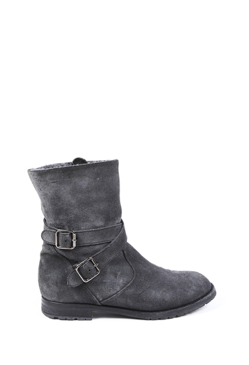 Suede Fur Lined Boots