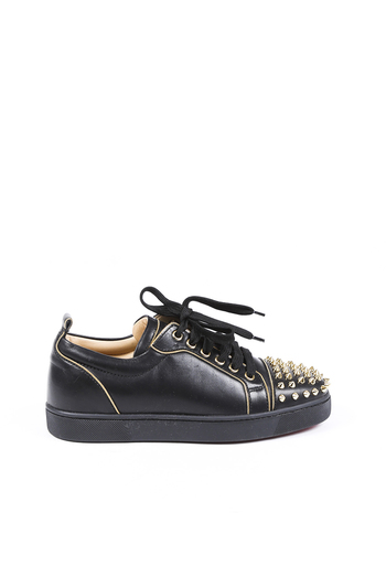 Rush Spike Leather Sneakers